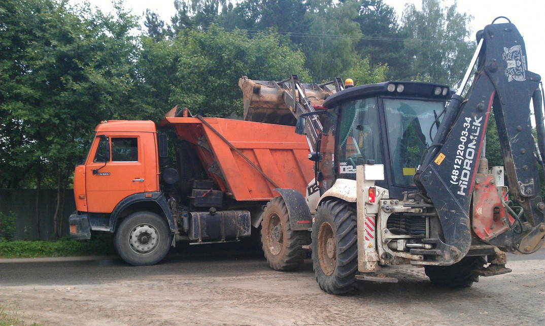 Уборка строительного мусора в Москве